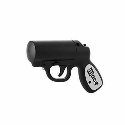 MACE Pepper Spray Gun w/ LED (strobe feature), 20 feet range BLACK