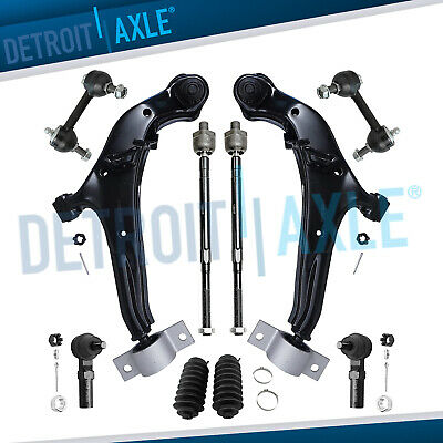 Brand New 10pc Complete Front Suspension Kit for Nissan Maxima Infiniti i30 i35