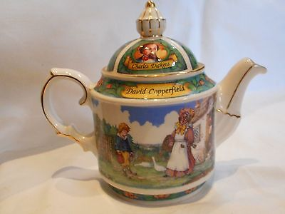 vintage sadler charles dickens david copperfield tea pot