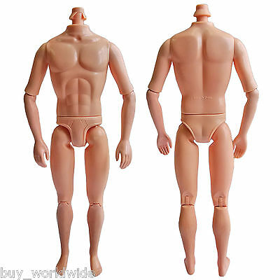 """Naked Nude Raw Body Custom Muscular Men Male 1:6 Scale Action Figure 12"""" Dolls"""