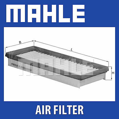 MAHLE Air Filter - LX2034 (LX 2034) - Genuine Part