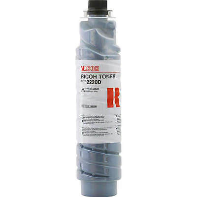 Genuine Ricoh Aficio 885266 / Type 2220D Black Laser Printer Toner Cartridge