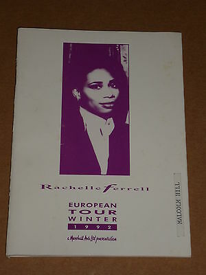 Rachelle Ferrell - European Winter Tour 1992 Tour Itinerary