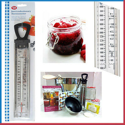 TALA Confectionery Cooking Kitchen Thermometer Jam Sugar 30CM Stainless Steel