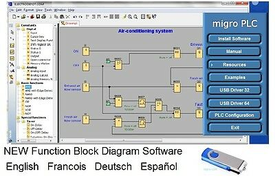 Micro PLC Programming Software Learning Automation Training Simulation Examples