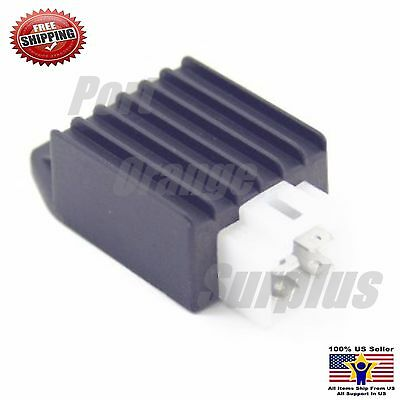 Voltage Regulator Rectifier 4pins 12V GY6 scooter ATV MOPED 50cc 110 125cc 150cc