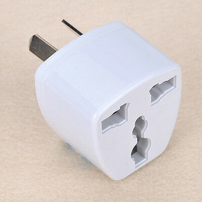New UK/US/EU Universal to AU AUS Power Plug Adapter Converter Travel Australia