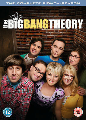The Big Bang Theory – Season 8 [2015] (DVD)