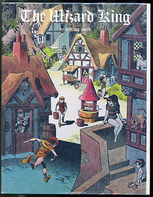The Wizard King by Wallace Wood, Limited edition (1978) hardcover, Out of print