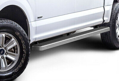 "Premium 4"" iBoard Running Boards Fit 15-16 Ford F-150 SuperCrew Cab"