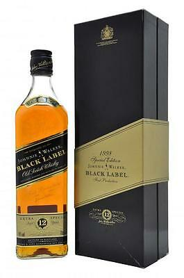 Johnnie Walker Black Label 1998 Special Edition Scotch Whisky 700ml