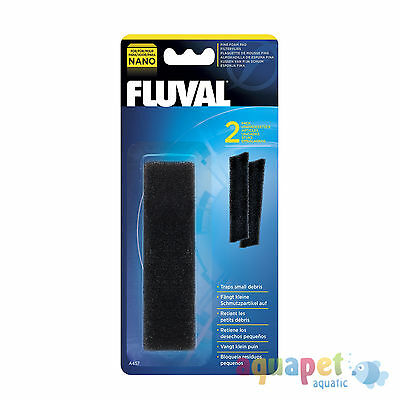 Fluval® Nano Aquarium Filter Fine Foam Pad, 2 Pack
