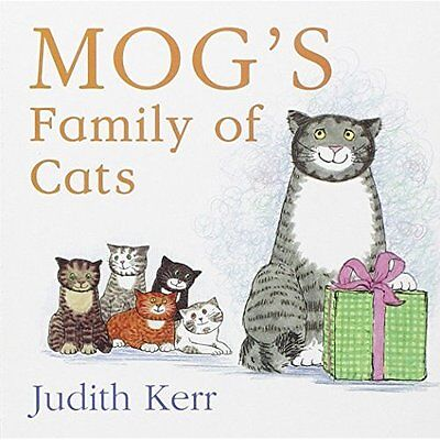Mog's Family Cats Kerr HarperCollins Children's Books Board book 9780007347049