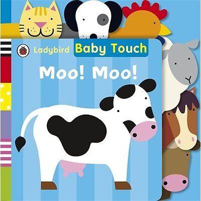 Baby Touch Moo! Tab Book Ladybird Books Board 9781409311386