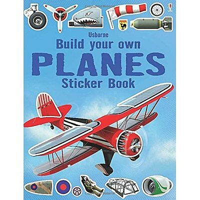Build Your Own Planes Sticker Book Tudhope Shirley Usborne Paperb. 9781409564485