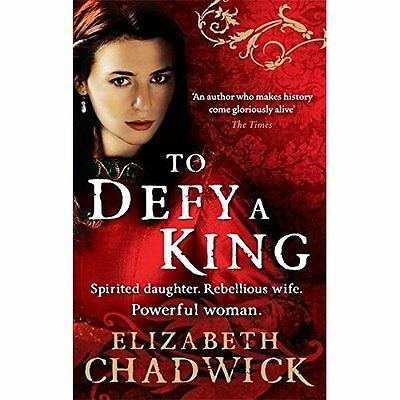 To Defy King Chadwick Historical fiction Sphere Paperback / softb. 9780751541335