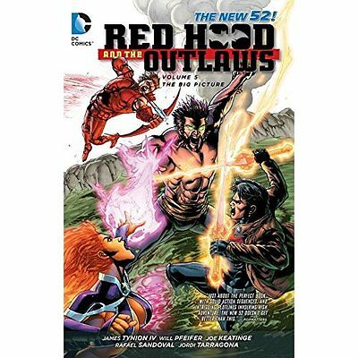 Red Hood Outlaws Volume 5 Tynion Gopez DC Comics Paperback / soft. 9781401250485