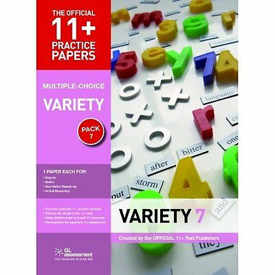 11+ Practice Papers Variety Pack 7 GL Assessment Pamphlet 9780708720523