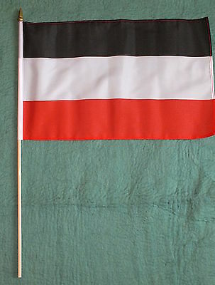 German 1866-1935 Large Hand Flag Deutschland Reich WW1 Kaiser Imperial Germany