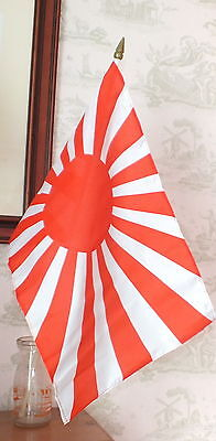 Japanese Navy Large Hand Flag Rising Sun Imperial Tokyo Nippon WW2 Naval 1945 bn