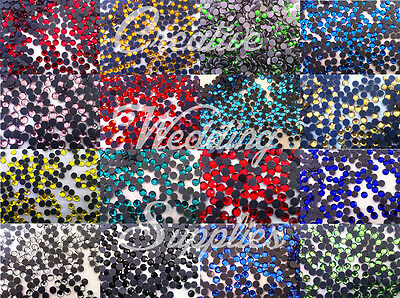 Bulk DMC Hotfix Rhinestone Iron On Crystal Diamante Glue Flatback SS10 16 20 30
