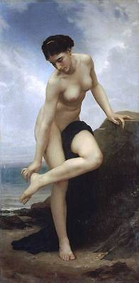 Ölbilder Ölgemälde Gemälde After The Bath 1875 -40x80cm