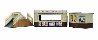 Dapol C018 Kiosk and Platform Steps Kit OO Gauge