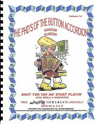 """Button Accordion Book , Easy Play By #S With Cd, Lively Jigs, Reels & Hornpipes"""""""