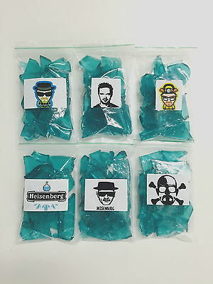6x 90g BREAKING BAD CANDY HEISENBERGS BLUE SKY METH CRYSTALS CANDY SEASON 1,2,3