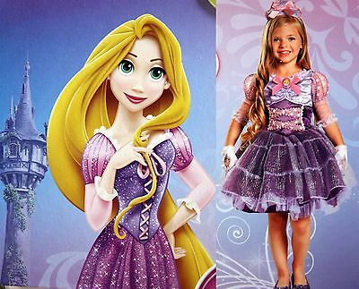 *New* Disney Deluxe Toddler Costume-PRINCESS RAPUNZEL-FROM TANGLED- Size 3T+