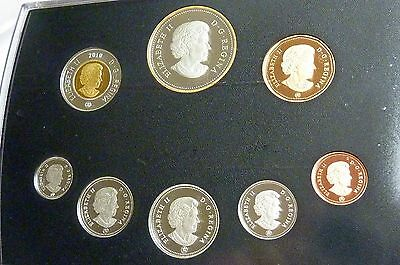 2010 Royal Canadian Mint Proof Set 100Th Anniv. Of The Canadian Navy    I-2020