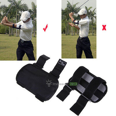 Golf Swing Training Straight Practice Golf Elbow Brace Corrector Care Support