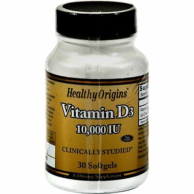 Healthy Origins Vitamin D3 - 10000 Iu - 30 Softgels