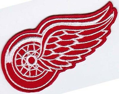 Detroit Red Wings National Hockey League NHL Badge Embroidered Patch