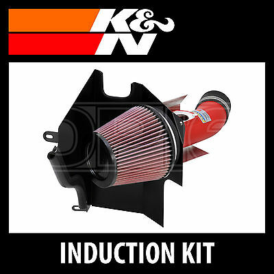 K&N Typhoon Performance Air Induction Kit - 69-8001TWR-K and N High Flow Part