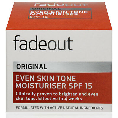 Fade Out Original Even Skin Tone Moisturiser Spf 15 - 50Ml