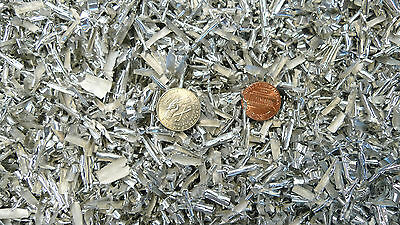 .5 lb.Aluminum Shaving Metal Turnings Filings Orgone Art Science Inclusion Cast