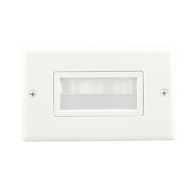 Cable Pass Through Wall Plate