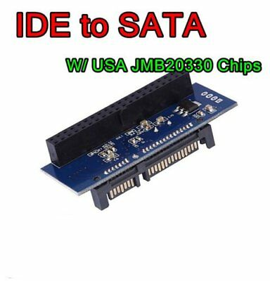 IDE TO SATA Converter Adapter For 3.5 HDD DVD Windows XP 7 8 32/64 Systems