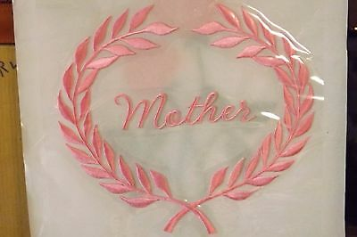 casket head cap panel universal Mother in Pink  8x8