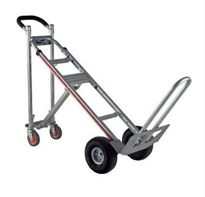 "Magliner Aluminum 3 in 1 Hand Truck With 10"" Full Pneumatic Tires ( 3 Position )"