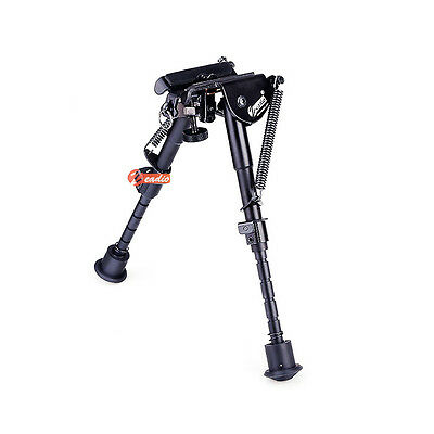 """Zeadio 6"""" - 9"""" Harris style Extendable Bipod with Sling Mount for Rifle Air Gun"""