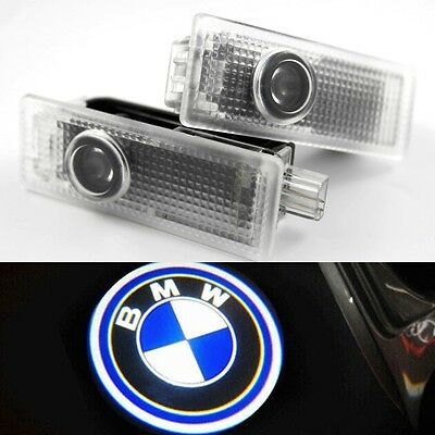 2 X LED Car Door Light Welcome laser projector Ghost Shadow Light For BMW UKShip