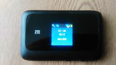 UNLOCKED ZTE MF910 150MBPS 4G LTE HOTSPOT MOBILE BROADBAND ROUTER WIFI three