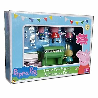 New Peppa Pig Theme Park Figures & Accessory Pack