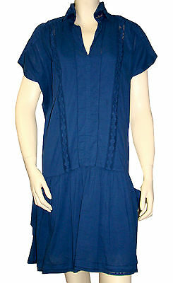 8cb0deff91a Robe chasuble bleu indigo I.CODE by IKKS femme dress taille 38