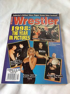THE WRESTLER magazine March 1999  WWE WCW