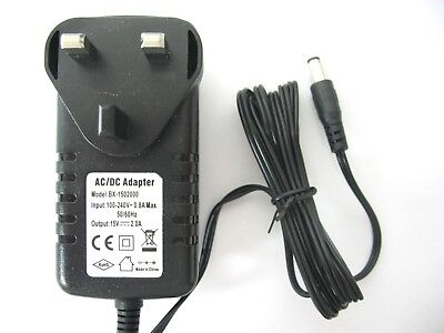 2000Ma/2A 15V 30W Ac/dc Mains Regulated Switching Power Adaptor/supply/charger