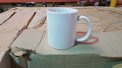 11 oz. Sublimation Mugs Wholesale RN coated Imaged Custom 36 ct.Case Bulk white