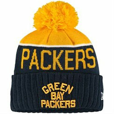 28b33e5ce8c New Era Green Bay Packers Retro Acme Color On Field Sport Knit Hat